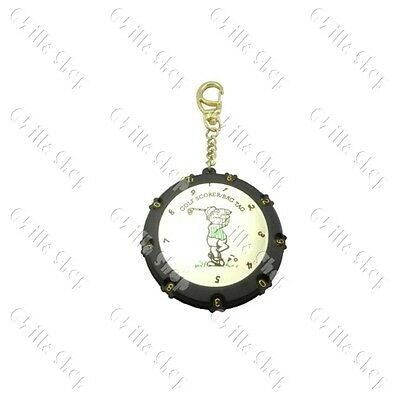 18 Holes golf Stroke Shot Put Score Counter Keeper w Keychain A