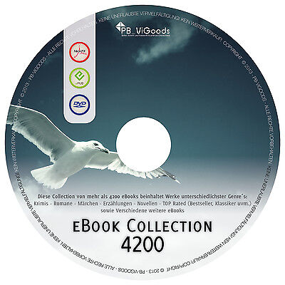 eBook - PROFI COLLECTION - 4200 eBooks - Sammlung - epub & pdf - eBook-Reader