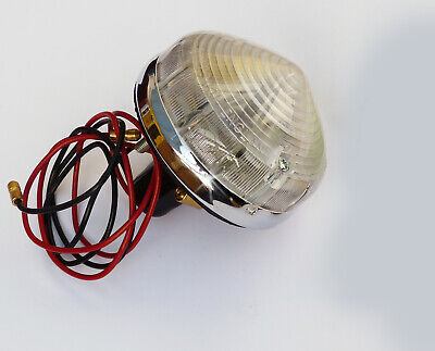 Lucas L691 Clear Side & Reversing Lamp, For Triumph, Marcos, Imp, BHA4476