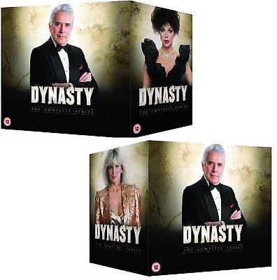 DYNASTY 1-9  1981-1989 COMPLETE ORIGINAL Classic TV Series Seasons R2 DVD not US