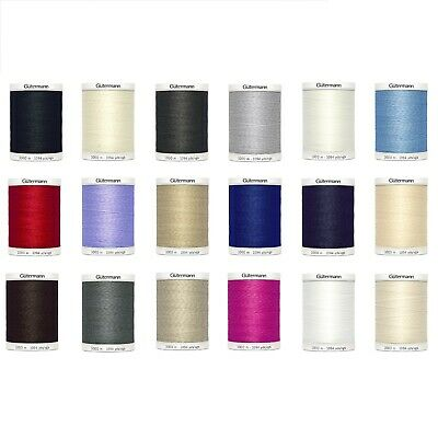 Gutermann Polyester Sew All Thread 1000m Choice of Colours