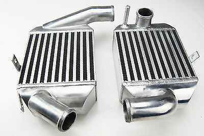 UPGRADE INTERCOOLER  90MM Thick FOR AUDI RS4 TURBO S4 A6 ALLROAD 2.7