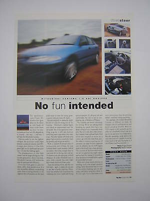 Mitsubishi Carisma 1.8 GDI Equippe Road Test from 1999