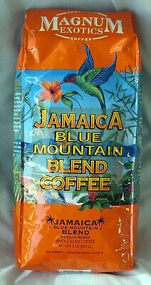 JAMAICAN BLUE MOUNTAIN COFFEE BLEND 2 LB  ~Best Before October ~  2017~