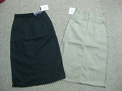 Girls Skirts skirt Uniform Khaki Navy Blue 7 8 10 12 14 18 20 1/2 school NEW