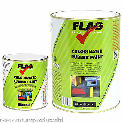 Flag Chlorinated Rubber Paint known as Road & Line Marking & Swimming Pool Paint