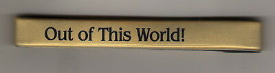 """""""Out of This World"""" Gold/Black Silicone Wristbands/50/NEW!"""