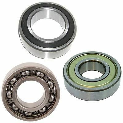 Deep Groove Ball Bearing Radial 6200 Series 2RS ZZ 2Z Open - Choose Size