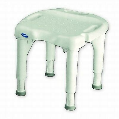 Invacare I-Fit Shower Chair Bench Seat Bathtub Bath Stool without Back