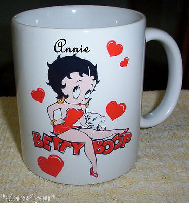 Betty Boop ( 2 Designs To Choose From ) Collectable Coffee Mug