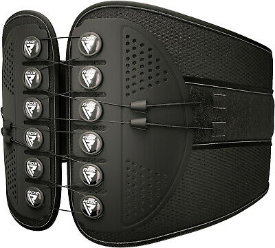 RDX Lower Back Support Belt Brace Pain Relief Fitness Weight Lifting Backache