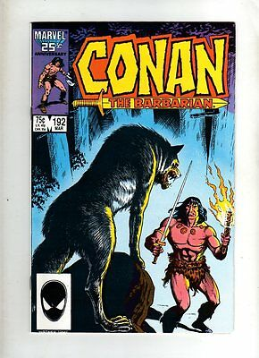 Conan The Barbarian  - Marvel Comic - #192   ( 1987    )  - Vg