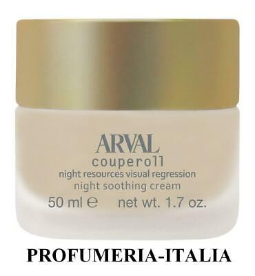 ARVAL COUPEROLL Night resource visual regression Crema notte addolcente 50 ml