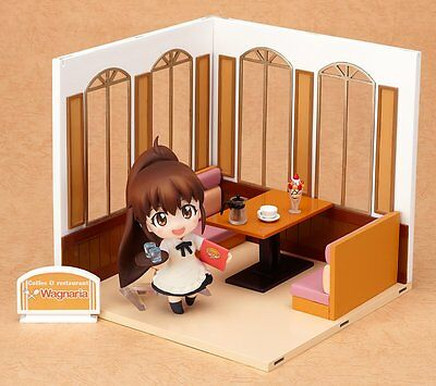 WORKING!!: Nendoroid Playset #05 Wagnaria A Set Guest Seating PVC Figure