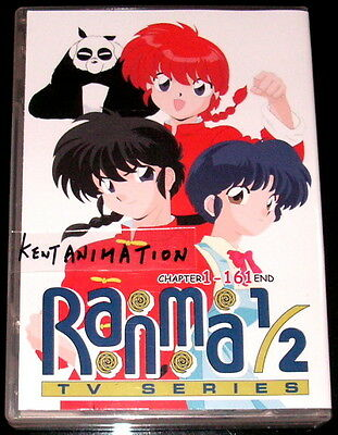 DVD RANMA 1/2 Chapter 1 - 161 End English Dubbed