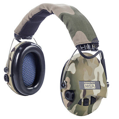 MSA Sordin Supreme Pro X. Hunting/Shooting Headset New Camo Cups