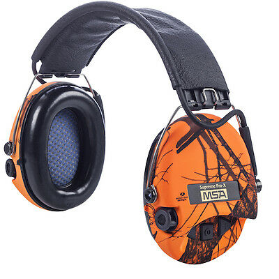 MSA Sordin Supreme Pro X Blaze. Limited Edition Hunting/Shooting Headset