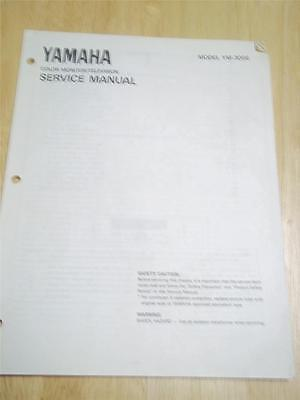Yamaha Service Manual~YM-300S Color Monitor/TV~Original~Repair