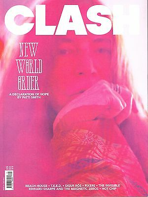 CLASH Magazine #75 Patti Smith BEACH HOUSE The Invisible BRYAN FERRY @New@