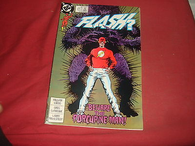 THE FLASH #26 Wally West  DC Comics 1989 VFN - Postage Discounts Available