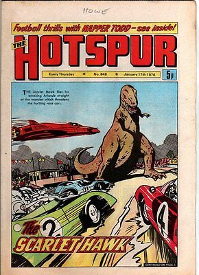 Hotspur - Uk Vintage Comic - #848 - 17 Jan 1976