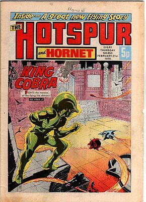 Hotspur And Hornet - Uk Vintage Comic - #853 - 21 Feb 1976