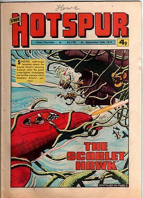 Hotspur - Uk Vintage Comic - # 778 - 14 Sept 1974