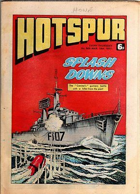 Hotspur - Uk Vintage Comic - # 909 - 19 Mar 1977