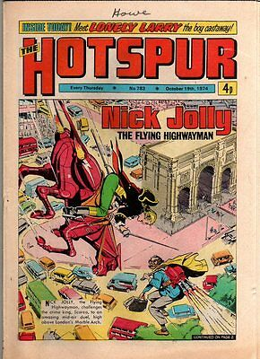 Hotspur - Uk Vintage Comic  - # 783 - 19 Oct 1974
