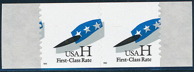"""#3265b """"HAT"""" PAIR RED OMITTED MAJOR ERROR WL2116"""
