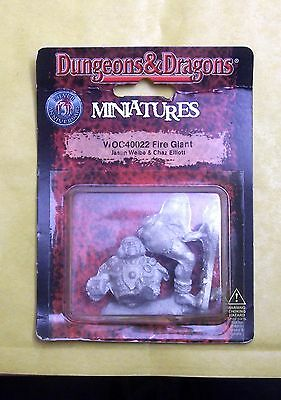 DUNGEONS & DRAGONS - FIRE GIANT - WIZARDS BLISTER NUOVO