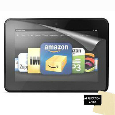 "CLEAR Screen Protector Guard for Amazon Kindle Fire HD 7"" 2012/2nd Gen"