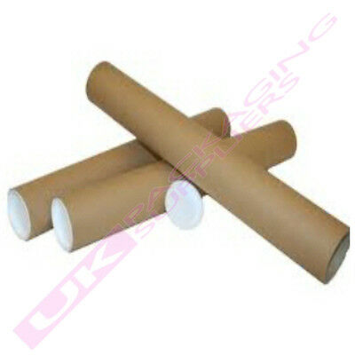 A1 SIZE 630 x 45mm CARDBOARD PACKAGING PACKING TUBES CHEAP OFFER *SELECT QTY*
