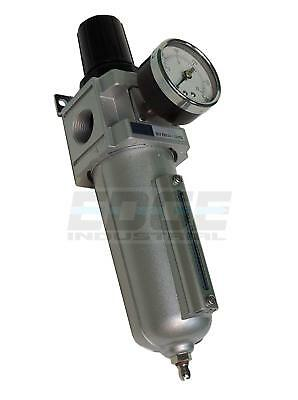 "Heavy Duty Air Compressor Filter Regulator, 250 Psi, 3/4"" Npt, Pneumatic Tools"