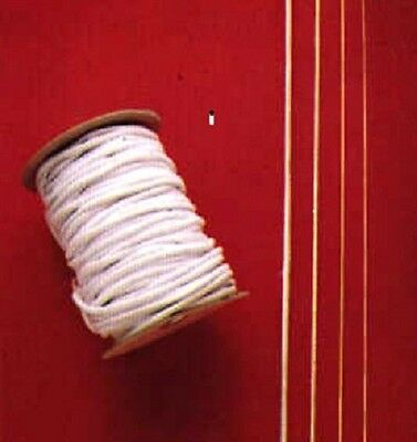 """Doll Stringing Elastic in 3 Sizes  for Small Dolls Sizes 4"""" to 14""""  A101"""