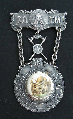 KNIGHTS OF THE MACCABEES MEDAL   EXCELLENT CONDITION