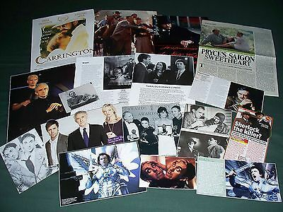 Jonathan Pryce  - Film Star - Clippings -Cuttings Pack