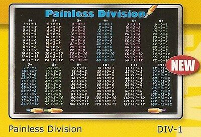 Math -  Division Activity Placemat