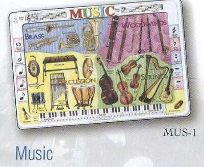 Music Educational  Study Placemat