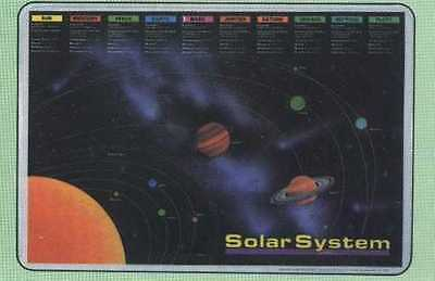 Planets Solar System Educational Placemat