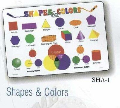 Shapes and Colors Activity Placemat