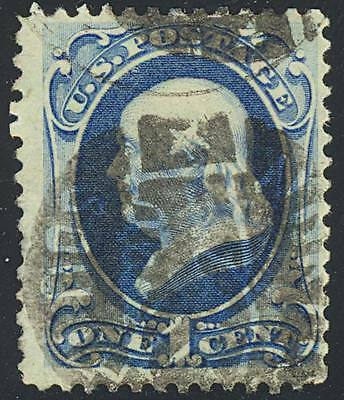 182, North/south Clasped Hand Cancel Cole #hf-6 - Rare! Srsk