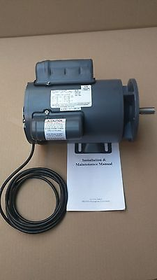 "B56 5/8"" Shaft, Single Phase, Electric Motor, Potato Peeler, Crypto, Bold, IMC"