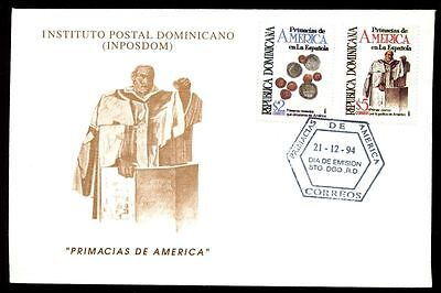 Dominican Republic 1993, American Firsts In Hispaniola FDC #C5473