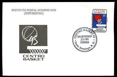 Dominican Republic 1995, Basketball Championships FDC #C5479