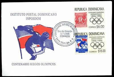 Dominican Republic 1996 Olympic Games FDC #C5483