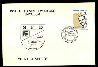 Dominican Republic 1999 Stamp Day FDC #C5571