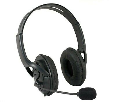 New Deluxe Headset Headphone With Mic Microphone For Xbox 360 Live Uk Seller