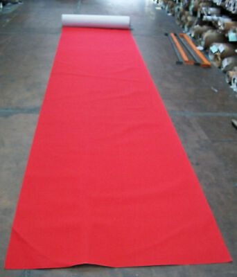 New Red Carpet Runner EXPO Rib Floor Covering Wedding Corporate 2m wide pr Metre