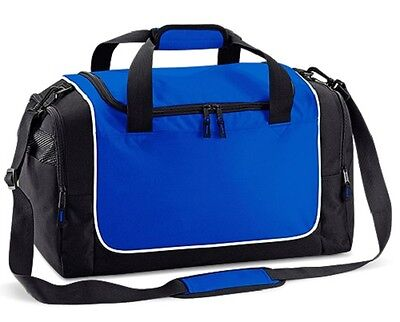 Travel Holdall Team Sports Gym Kit Locker Bag Training Quadra QS077 6 Colours